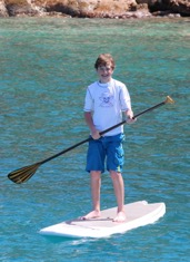 SUP in the Islands