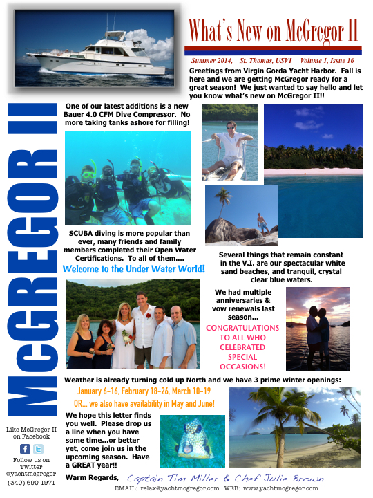 McGregor Newsletter 2014