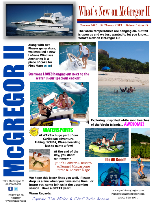 McGregor Newsletter 2012