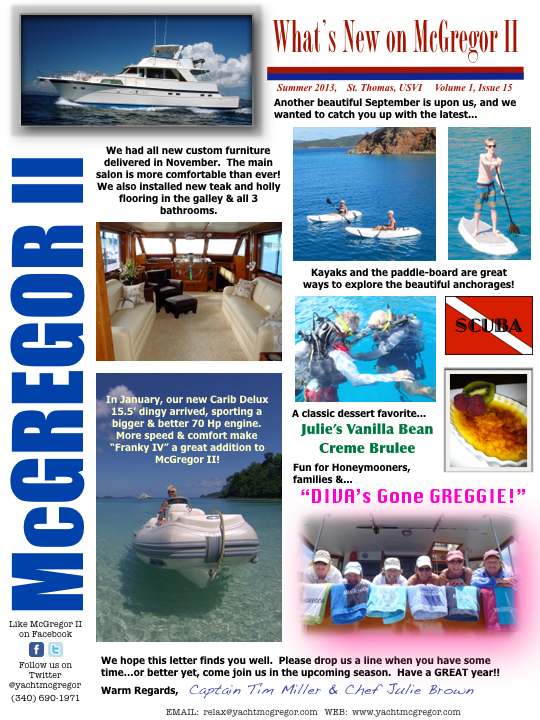 McGregor Newsletter 2013