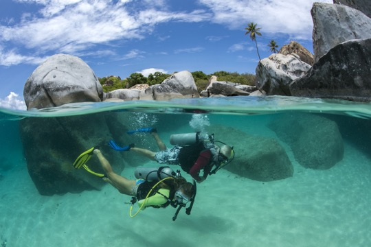 SCUBA Dive at The Baths